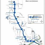 Bottineau-Blue Line map